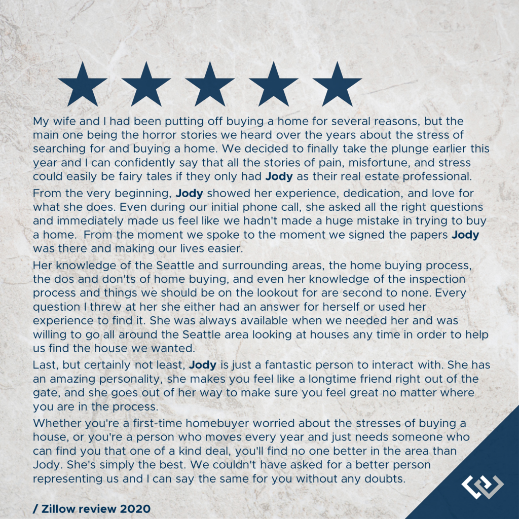 Zillow Review 6.10.2020